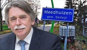 Burgemeester over versterking in Meedhuizen: 'Dit is een grote verrassing'